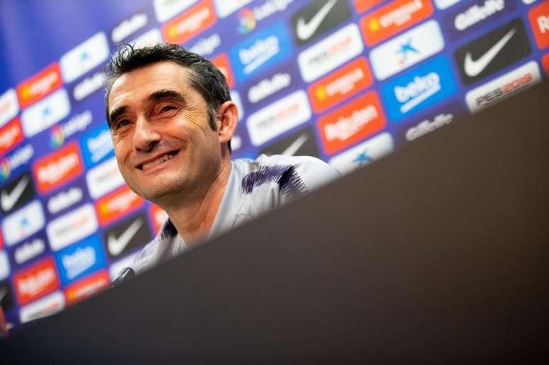 O treinador do Barcelona evitou entrar na polémica. EFE