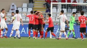 Corea del Sur volvió a ganar. EFE
