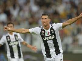 Cristiano Ronaldo conquista Itália. AFP