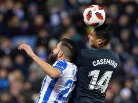 Casemiro, a segurança de Zidane. EFE