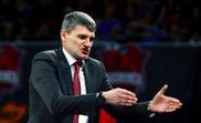El entrenador del Kirolbet Baskonia, el croata Velimir Perasovic. EFE