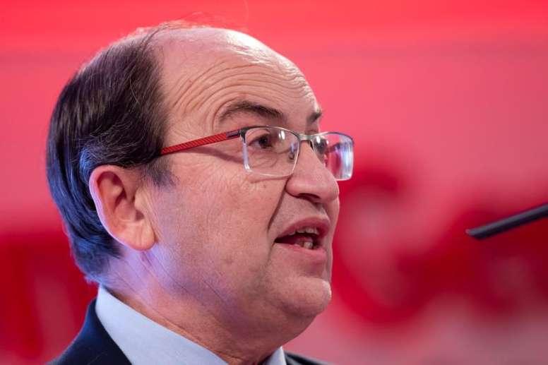 José Castro augura un buen partido. EFE