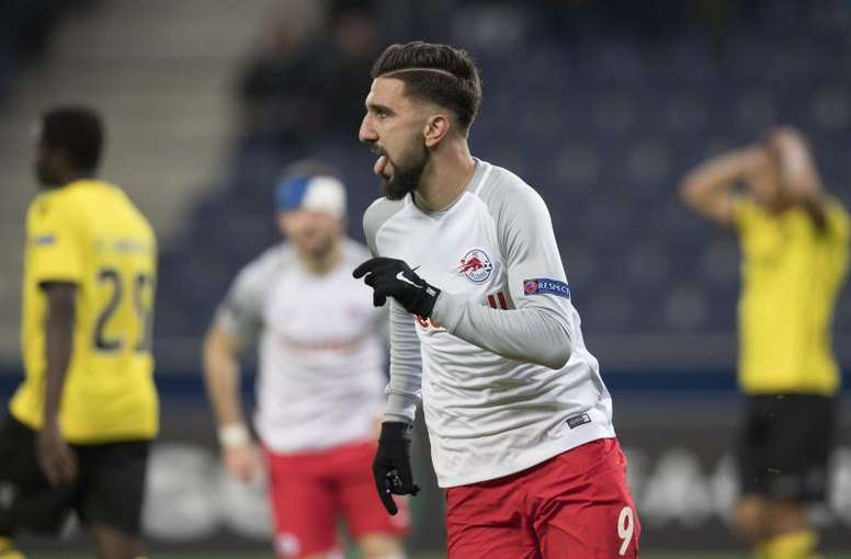 Munas Dabbur aún no ha debutado con el Sevilla en partido oficial. EFE
