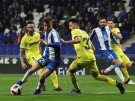 El Espanyol cede a Javi Puado al Zaragoza. EFE