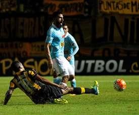 Josepmir Ballón acepta el reto chileno. EFE