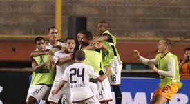 Universitario Deportes sigue con buen pie en Perú. EFE