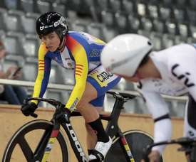 Las ciclistas Helena Casas (i) y Tania Calvo. EFE/Archivo