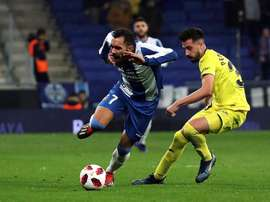Borja Iglesias suma once goles este curso. EFE