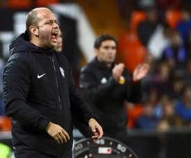 José Alberto limogé par le Real Sporting. EFE
