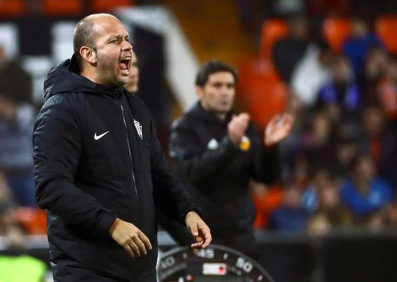 El Sporting se enfrentará al Zaragoza. EFE