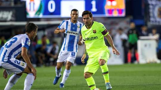 O Barcelona recebe o Leganés. EFE/Archivo