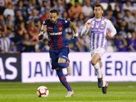 El Levante recibe en casa al Valladolid. EFE