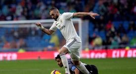 Karim Benzema et compagnie ont assumé leurs responsabilités. EFE