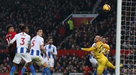 El United volvió a ganar. EFE