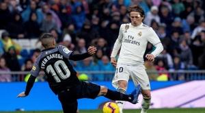 Sevilla - Real Madrid: onzes iniciais confirmados. EFE