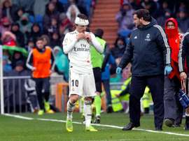 Modric veut continuer à Madrid. EFE