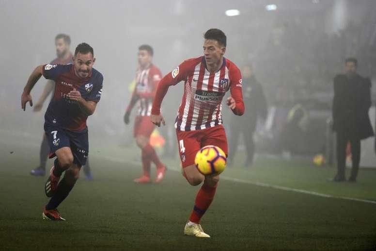 L'AS Roma lorgne un joueur de l'Atlético. efe
