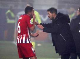 Koke was at Atlético when Simeone joined in 2011. AFP