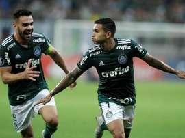 O Palmeiras recebeu e venceu o Melgar. EFE