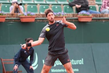 El tenista uruguayo Martín Cuevas. EFE/Archivo