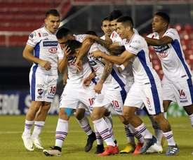 Erbes y Correia preparan su debut con Nacional. EFE
