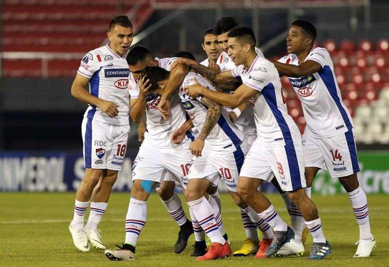 Nacional mantiene el paso firme en Paraguay. EFE/Archivo
