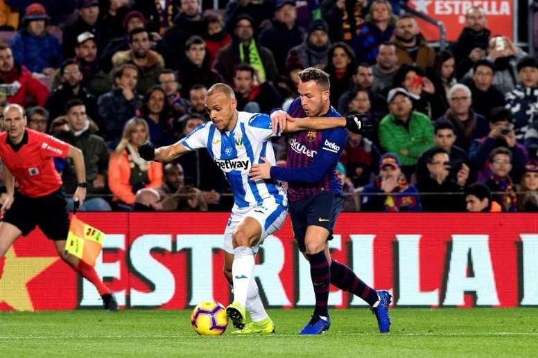 Perché il Barcellona può comprare Braithwaite? AFP
