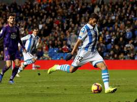 The Brazilian striker Willian Jose will not be going to Barca. EFE/Archivo