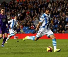 Willian José pourrait quitter la Real Sociedad cet été. EFE