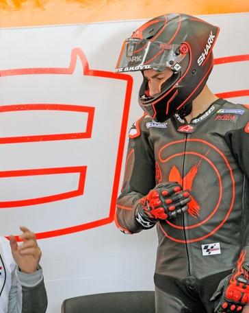 El piloto de Repsol Honda, Jorge Lorenzo, en el circuito Ricardo Tormo de Cheste (Valencia).EFE/Archivo