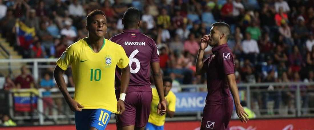 Antony Matheus dos Santos spoke about other Brazilian players. EFE