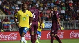 Rodrygo, triste pero con buen paso por el Sudamericano Sub 20. EFE