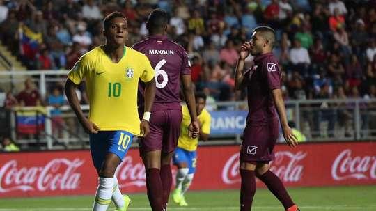 Horario y dónde ver el Brasil-Argentina del Sudamericano Sub 20. EFE