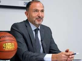 Chus Bueno, responsable de NBA España. EFE/Archivo