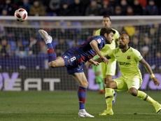 El Levante no quiere que se avance en la Copa del Rey. EFE