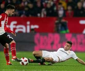 Munir no podrá jugar en la ida de los cuartos de final de Copa. EFE