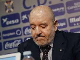 Miguel Concepción a reconnu les erreurs. EFE