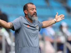O treinador português Nuno Espírito Santo. EFE