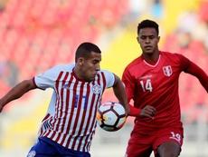 Paraguay dominó durante gran parte del encuentro. EFE