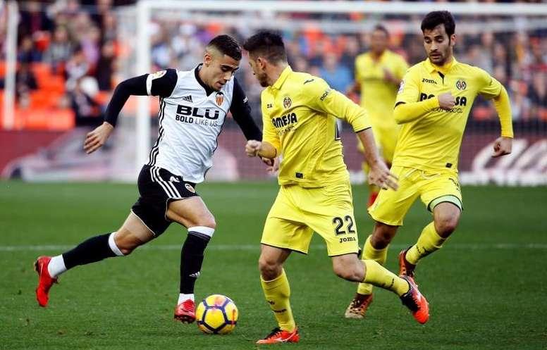Villarreal-Valencia: duelo español en cuartos de Europa League. EFE/Archivo