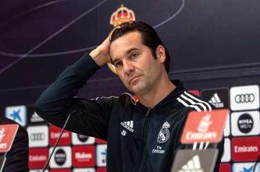 Solari n'a pas voulu dire si Marcelo serait titulaire. EFE