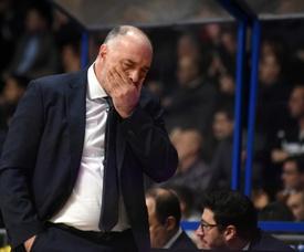 El entrenador del Real Madrid Pablo Laso. EFE/Archivo