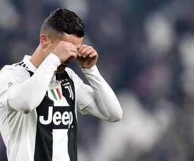 Cristiano falló un nuevo penalti en Italia. EFE