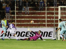 Defensor Sporting se impuso por 2-4. EFE