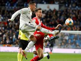 Lucas Vazquez scored for the hosts. EFE