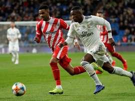 Escalações de Girona e Real Madrid. EFE