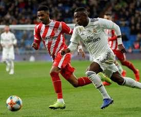 Prováveis escalações de Real Madrid e Girona. EFE