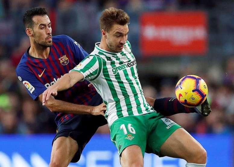 Barcelona e Betis: onzes iniciais confirmados. EFE/Archivo