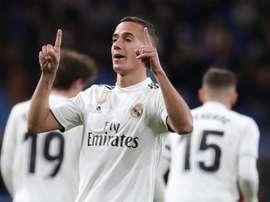 Au Real Madrid, l'avenir de Lucas Vazquez fait débat. efe