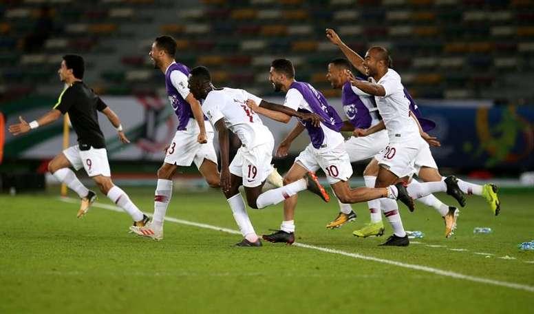 Catar ganó la Copa Asia. EFE